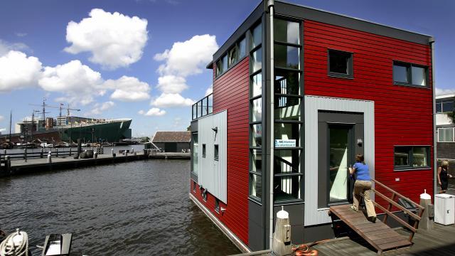 'Wonen op water is interessante voorbereiding op stijging zeespiegel'